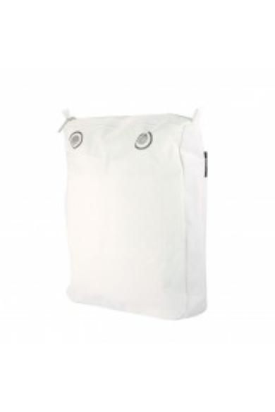 O bag Chic vászon belső Bianco