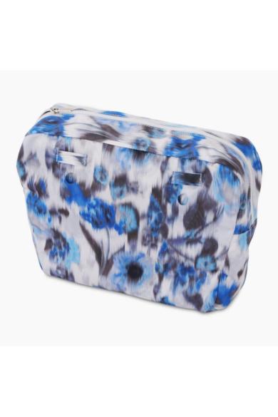O bag Classic belső bújtatóval Crepe de Chine Imperial blu