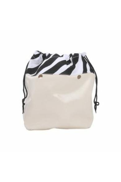 O bag Classic belső Coulisse zsákos vászon Zebra