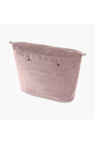 O bag Classic belső Microfibra Rosa smoke