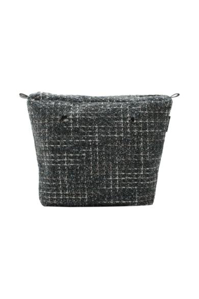 O bag Classic belső Tweed buklé Nero