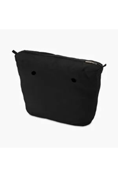 O bag Classic belső vászon Nero