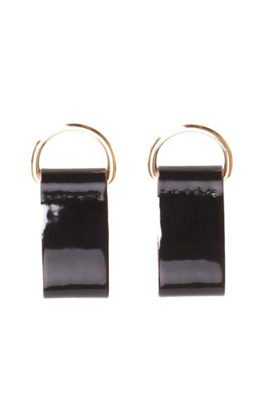 O bag clip lakk Nero arany gyűrűvel