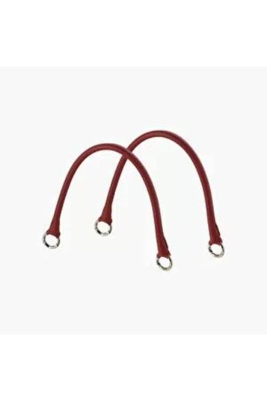 O bag fogó rövid saffiano műbőr Tubolare Micro O doc táskához Ruby Red