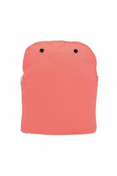O bag Fifty belső vászon Corallo