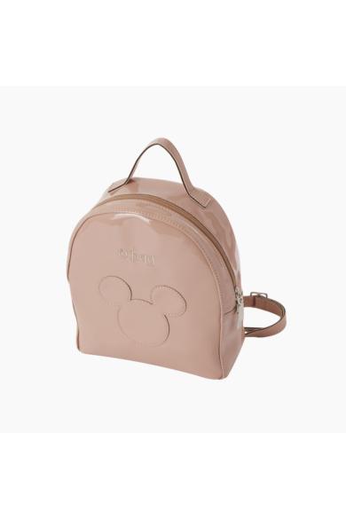 O bag Ivy hátizsák Mickey lakk műbőr Rosa Smoke