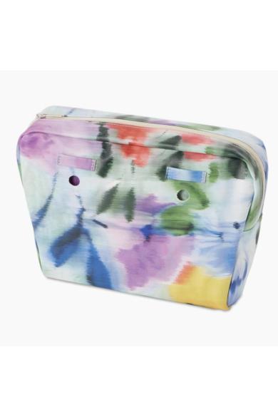 O bag Mini belső bújtatóval Nappa Florale mintás Mix Colori