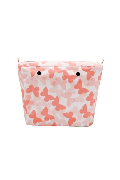 O bag Mini belső vászon Pillangós Coral