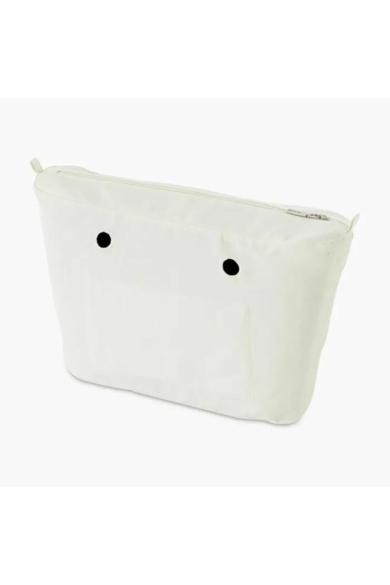 O bag Urban mini belső vászon Bianco
