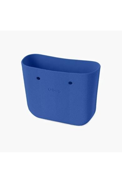 O bag Mini táskatest halszálkás Imperial blu