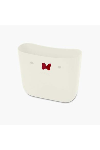O bag Mini táskatest Minnie masnival Latte