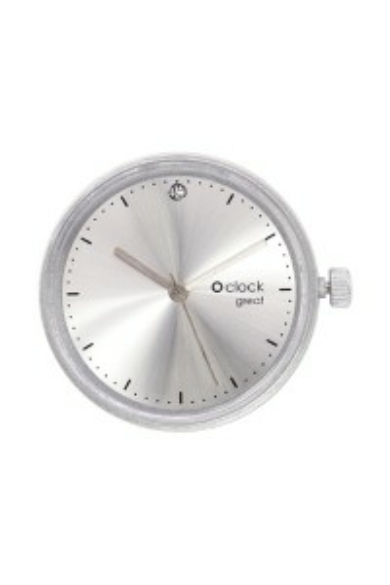 O clock Great óramű Soleil Cristal Silver
