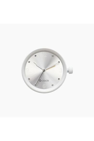 O Clock óramű Crystal Numbers Argento