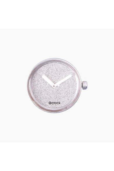 O Clock óramű Glimmer Argento