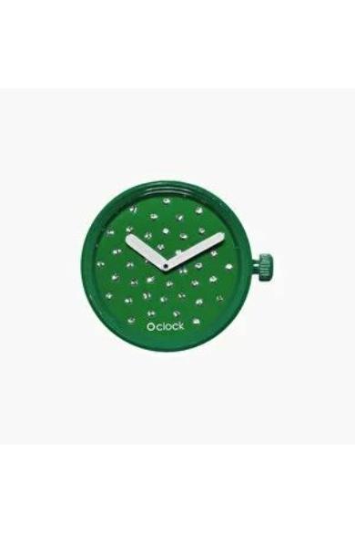 O Clock óramű Cristal Smeraldo