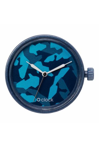 O Clock óramű Metal Camuflage Blu navy