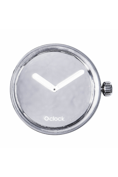 O Clock óramű Mirror Argento