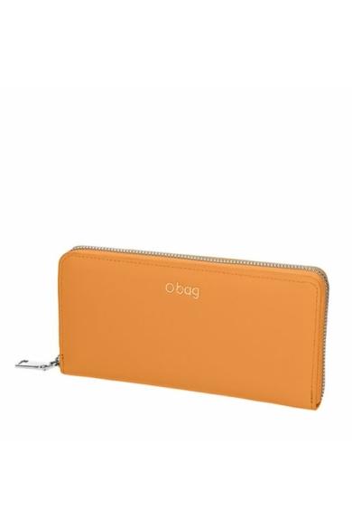 O Wally pénztárca komplett zipzáros soft anyagú Cammello