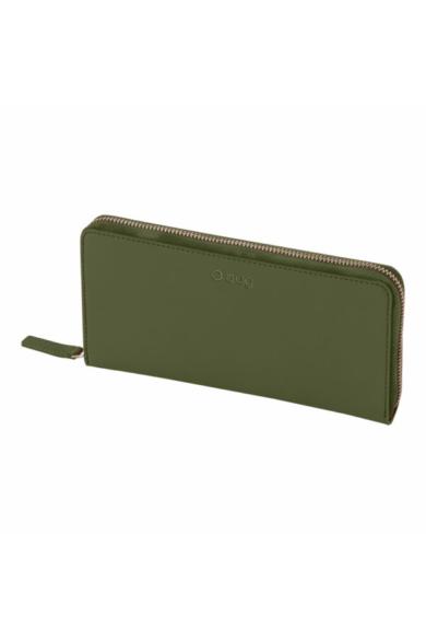 O Wally pénztárca komplett zipzáros soft anyagú Military