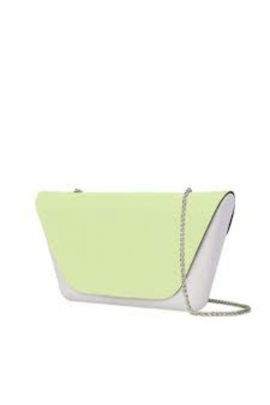 O bag O Sheen fedlap láncos vállpánttal Celery green