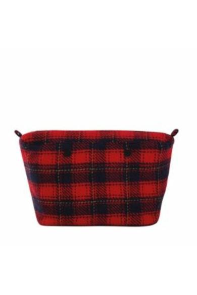 O bag Urban belső Tartan Wallace kockás Rosso/blu navy/curry